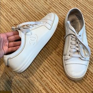 CHANEL RUBBER SNEAKERS